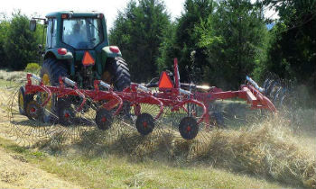 Rhino Crop Driven Rakes and Hay Tedder Equipment » Wells Tractor