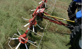 Rhino Crop Driven Rakes and Hay Tedder Equipment » Wells Tractor