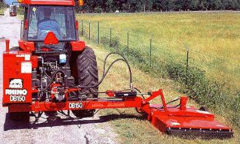 Rhino Hydraulic Boom and Ditch Bank Mowers » Wells Tractor
